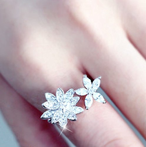 Excelsia analulu 14k rose white gold plated cz crystal dainty excelsia mightylinksfo